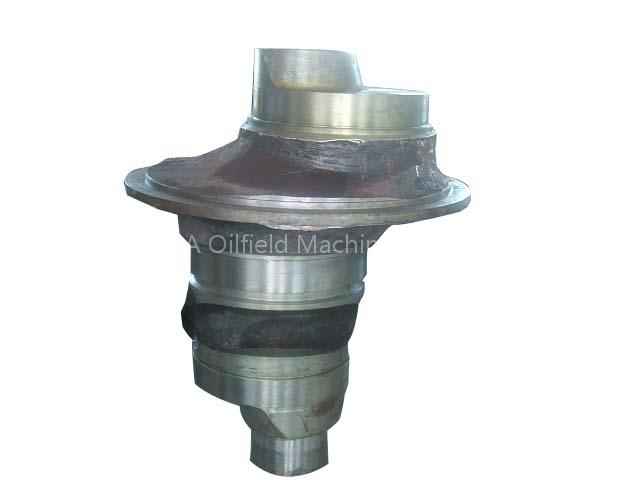 Mud Pump Power End Crank Shaft