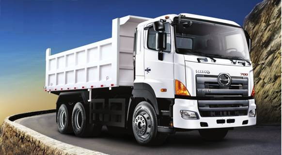 hino 700 dump truck 6 4 yc3250fs2pk pm transportation. Black Bedroom Furniture Sets. Home Design Ideas