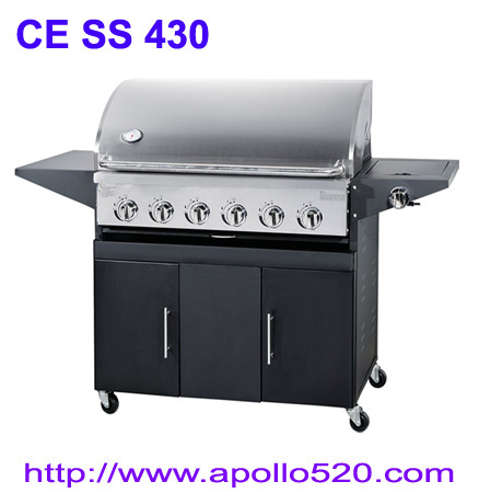 Gas Barbecue Free Standing 6Burner Grills