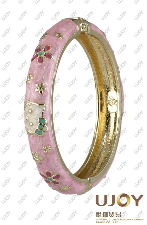 Children's Kitty Bangle