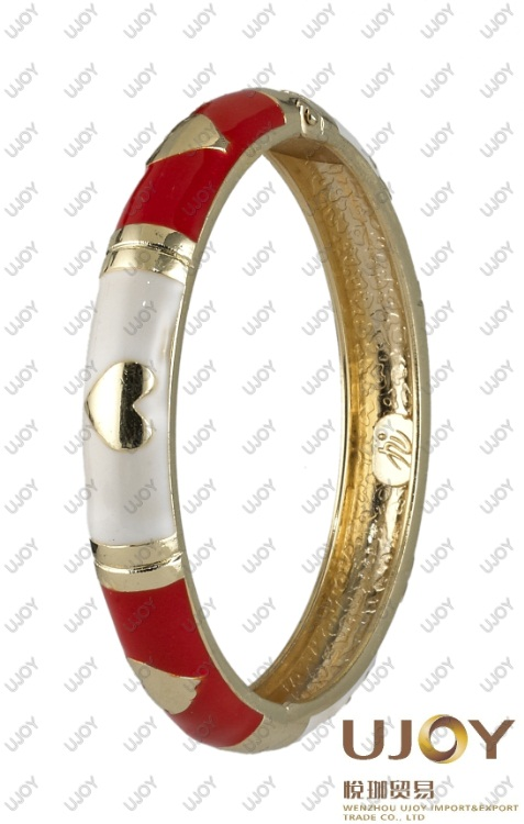 2012 fashion heart-shaped bangle