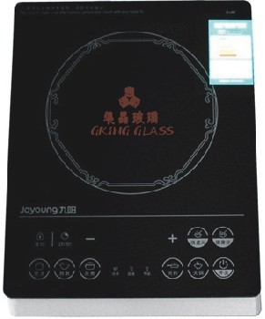 glass ceramic for high quality induction cooker