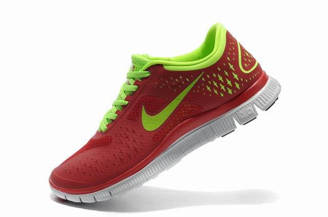Nike free run 4.0 v2 red