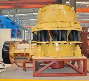 CS high-efficiency spring cone crusher