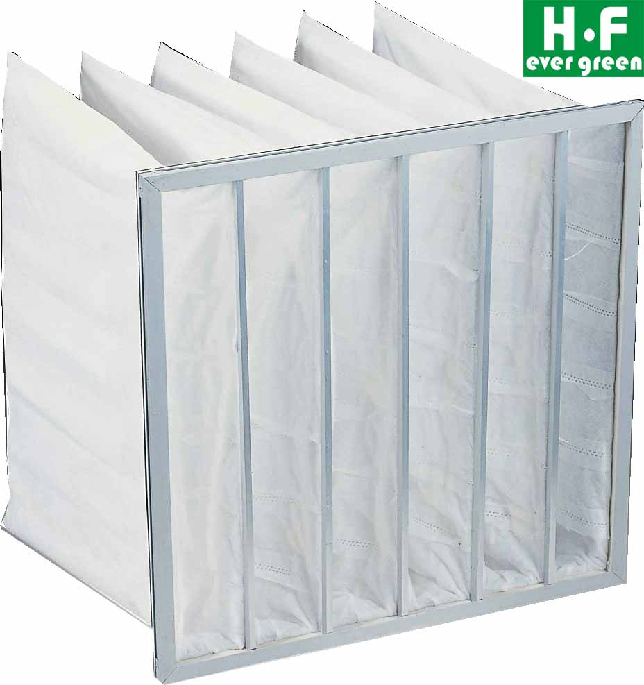 Primary air filter Bag air Filter pock air fitlers for clean room