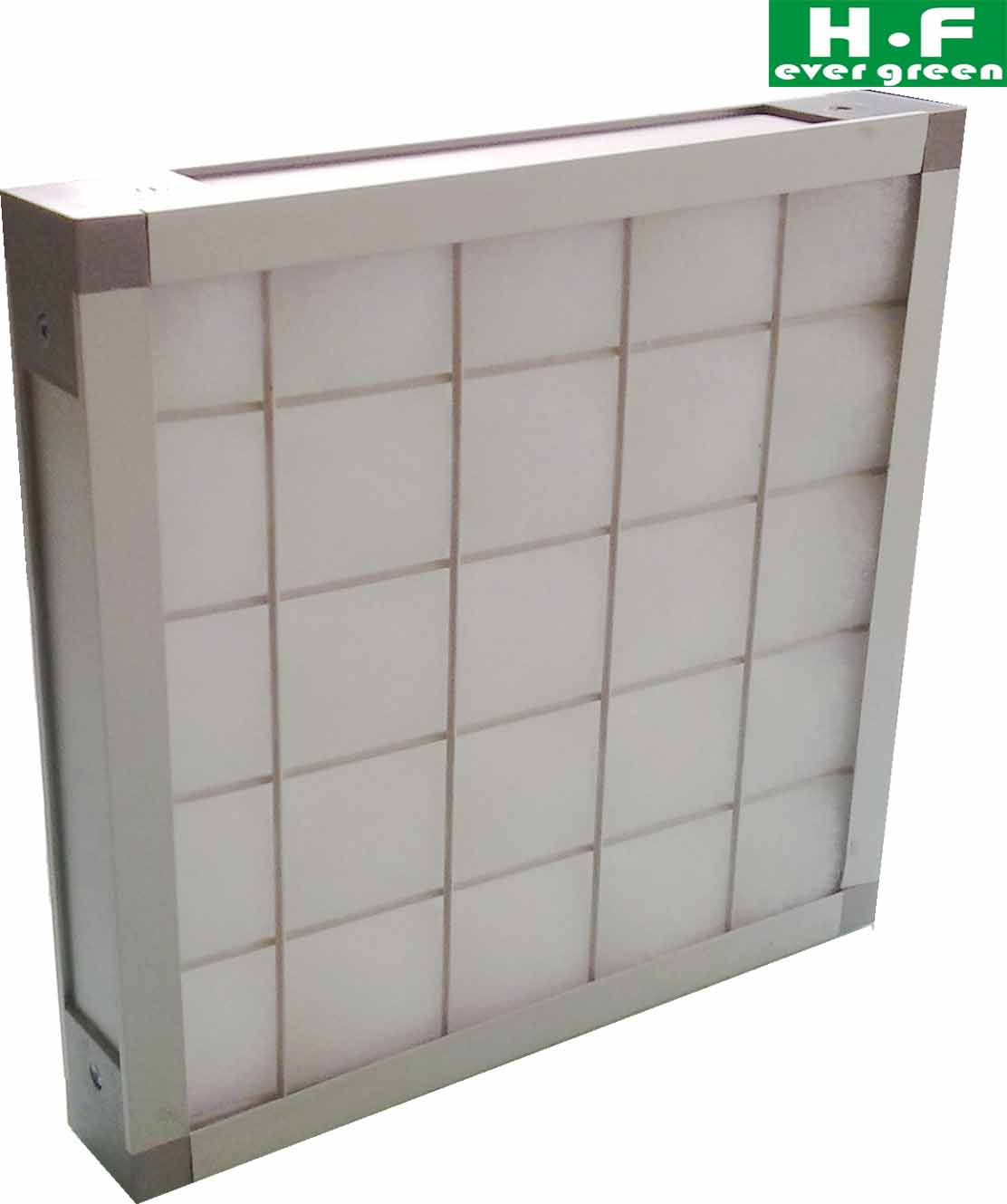 Metal Frame Filter panel air filter