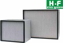 Mini pleant hepa filter air filter for clean room