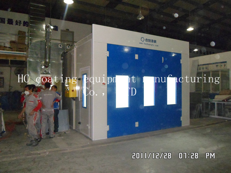 Spray booth HC620