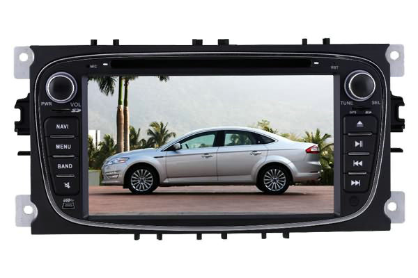 7 Ford Focus/Mondeo/S-Max DVD GPS stereo bluetooth autoradio, Somicar FD-001