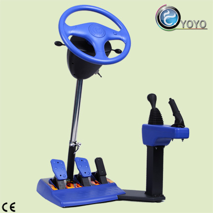 Metal Steering Wheel ABS Hand Brake Car Racing Machine