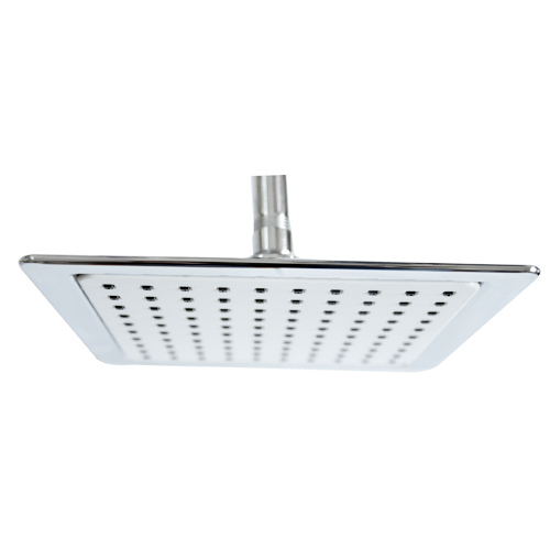 square abs overhead shower