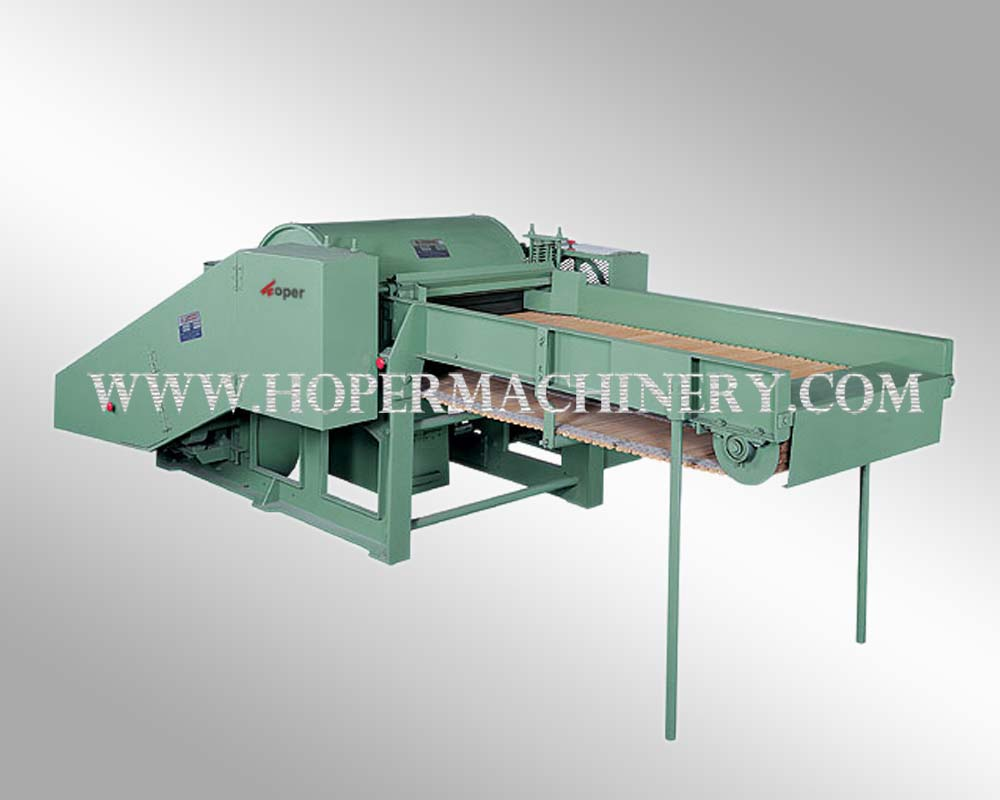 Fabric opening machine