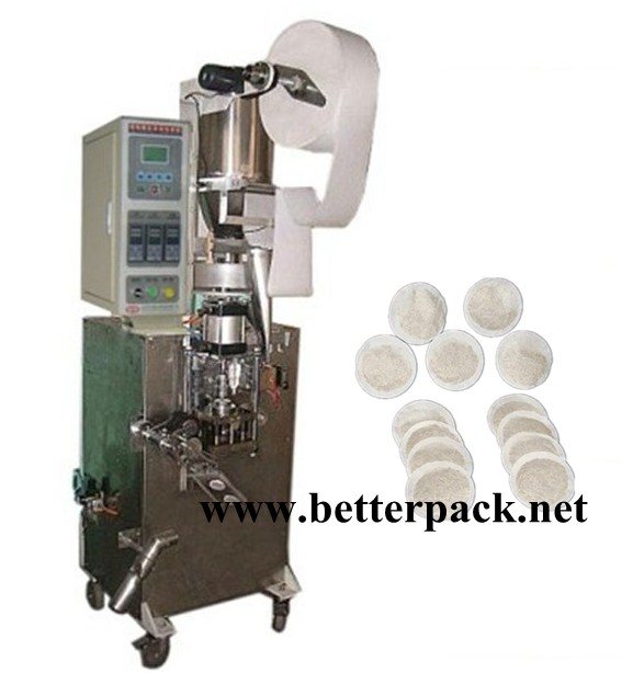 round shape tea bags coffee pod packaging machinery