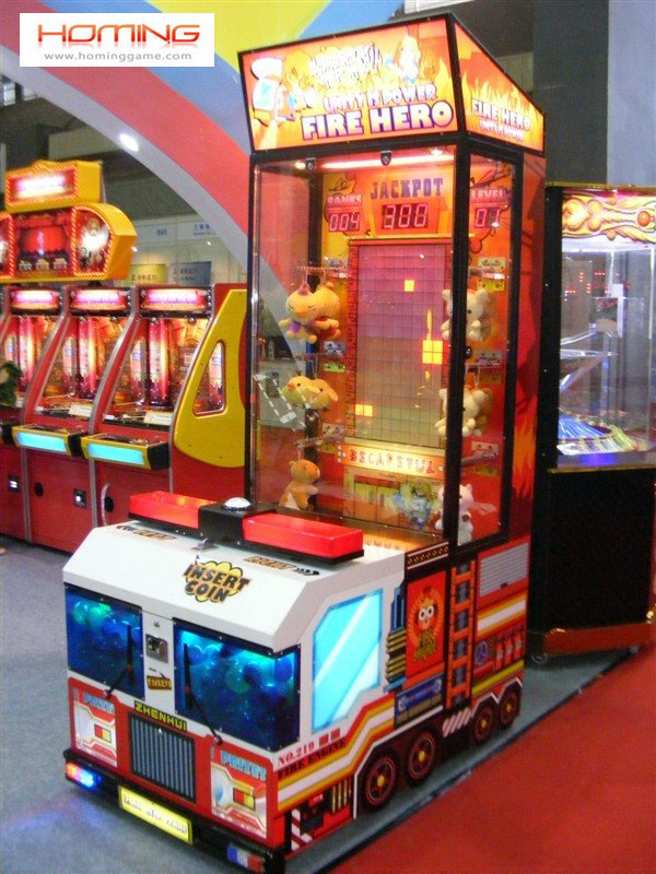 FIRE ENGINE Hero Gift machine HomingGame-COM-055