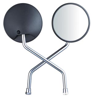 Motorcycle Parts-Side Mirror, Alloy Rim, Tire, etc
