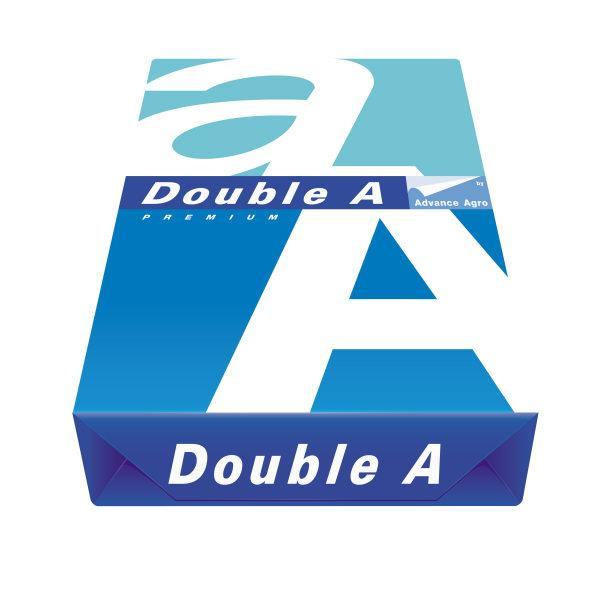 DOUBLE A A4 PAPER 80GSM 500 SHEET / REAM. 5 REAMS/BOX  $1.00USD