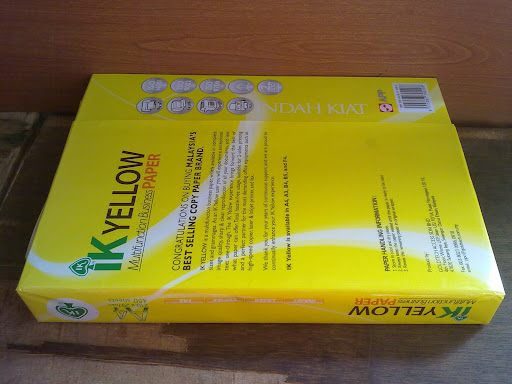 IK A4 PAPER 80GSM 450 SHEET/REAM.10 REAMS/BOX   $1.00USD
