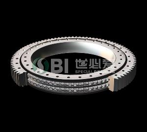 Double Row Four Point Contact Ball Slewing Ring Bearing