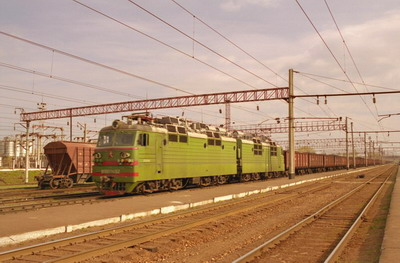 Railway cargo carriage in Europe, Russia, China