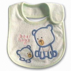Baby Bib, 100% Cotton Bib & Promotional Bibs
