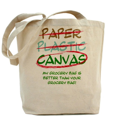 Shopping Bag/ 100% Cotton Grocery Bag & Promotional Tote Bags