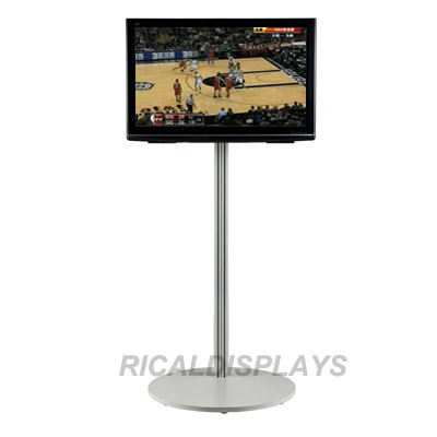Single Pole TV Stand