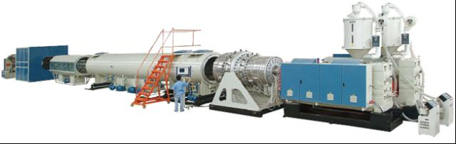 HDPE Large-Caliber Gas/Water Supply Pipe Extruson Line