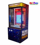 2012 Latest Block Party Pile Up Stacker Game Machine