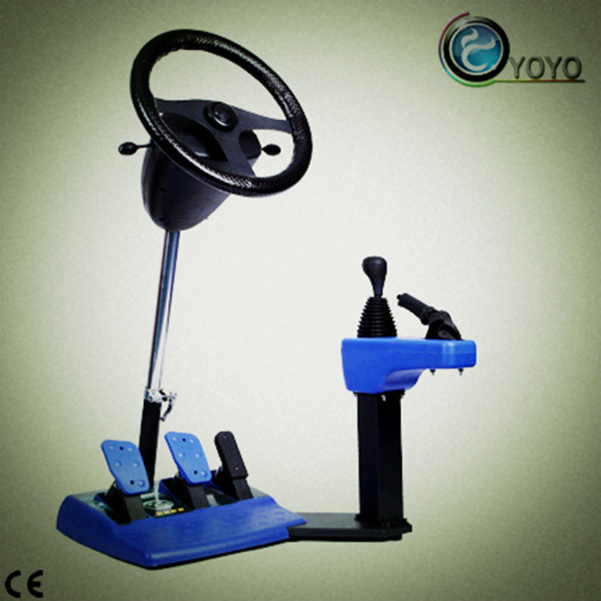 Vehicle Racing Machine Have Game Function and Can Training Drive
