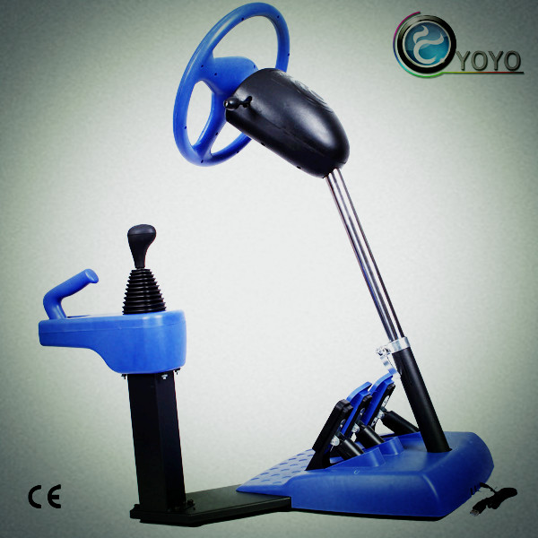 Racing Machine Have Game Function and Can Training Drive
