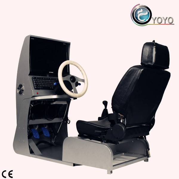 Big Auto Driving Machine Have Game Function and Can Training Drive