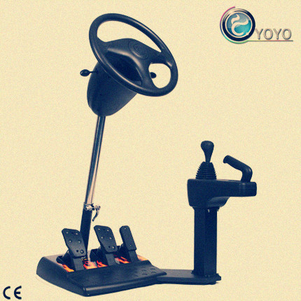 Small Type Driving Training Simulator With 12 KGs Weights