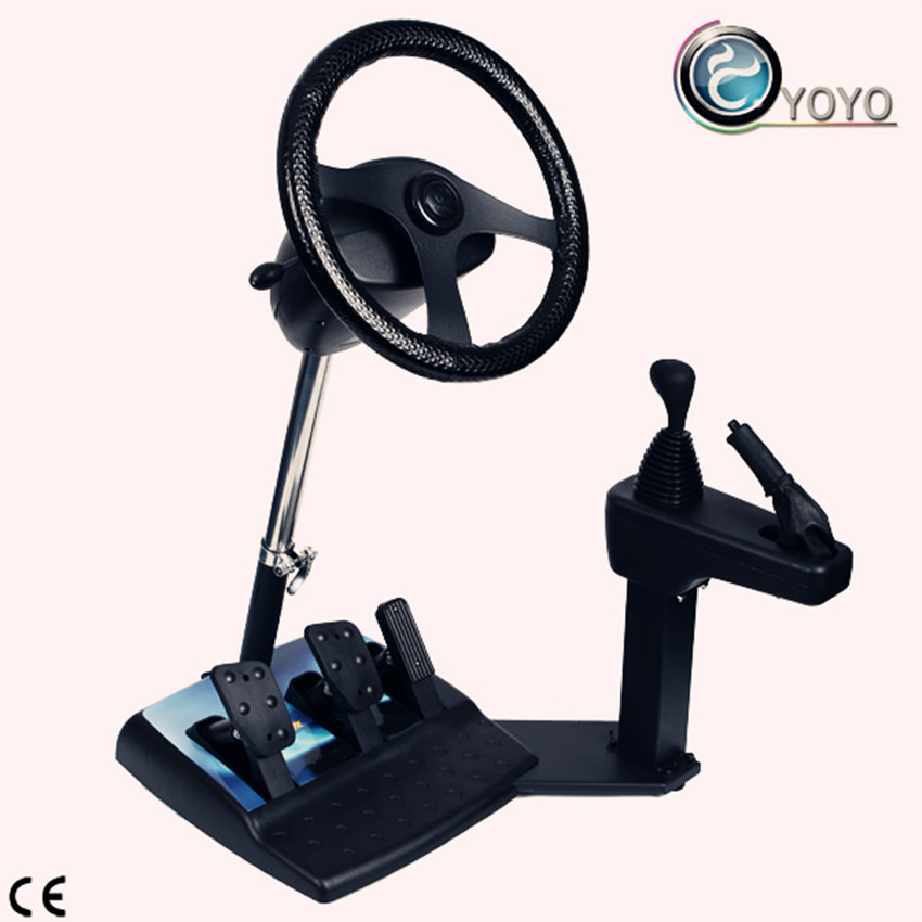 ABS+Iron Material Driving Testing Simulator For Driving School
