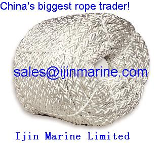 8-Strand Polyester/Polypropylene mixed Rope/marine rope in china/mooring rope