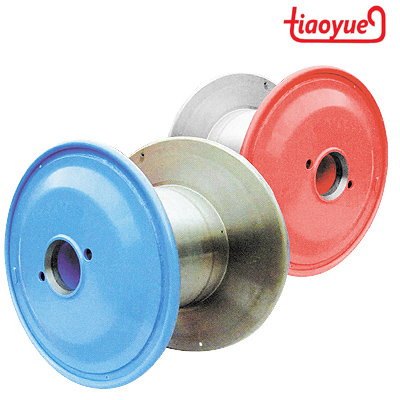 steel cable spool