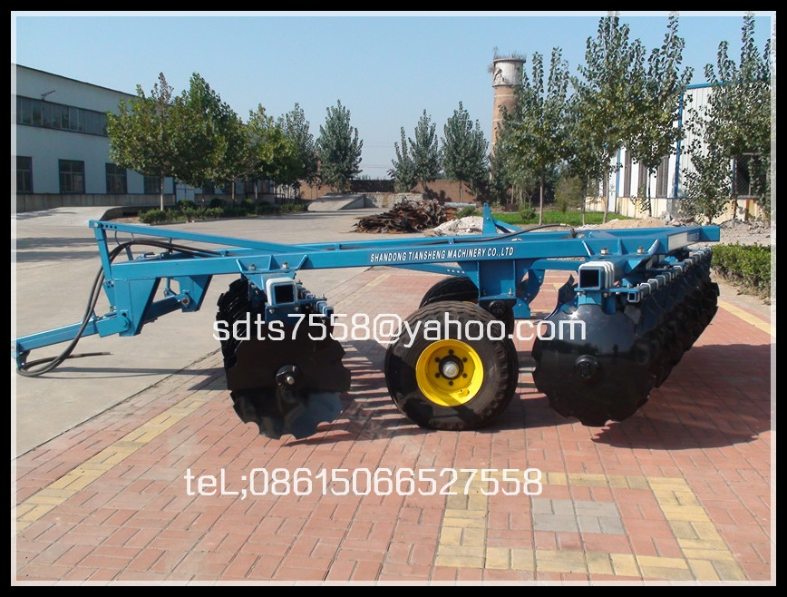 Semi Stubble Offset Wheel Disk Harrow  ble Offset Wheel Disk Harrow