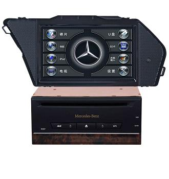 Car GPS 7 inch TFT-LCD Entertainment System For Benz-GLK300