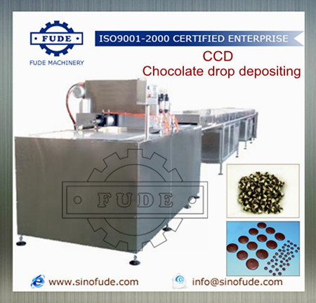 Chocolate Drop depositing Line