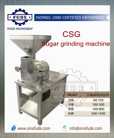 Sugargrinding machine