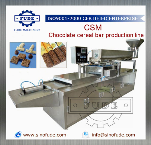 Chocolate cereal bar production line