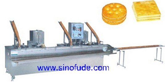 BJX-C 3+2 type biscuit sandwiching machine