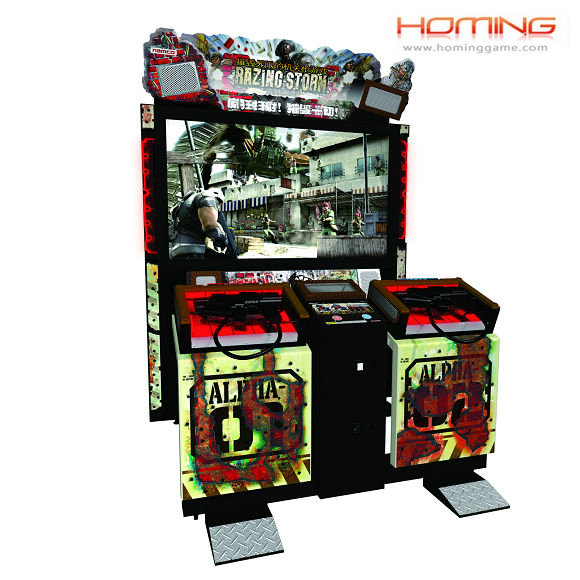 Razing Storm shooting game machine(hominggame-COM-424)