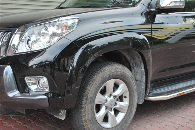ABS blowing fender trims / fender flare / eyebrow for Toyota Prado 2010