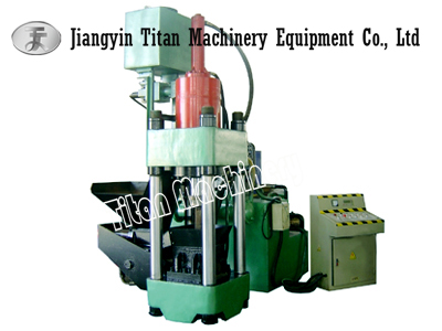 Y83-2500 Hydraulic Metal Chips Briquetting Press