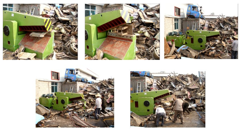 Q43 series Hydraulic Metal Scrap Alligator Shear