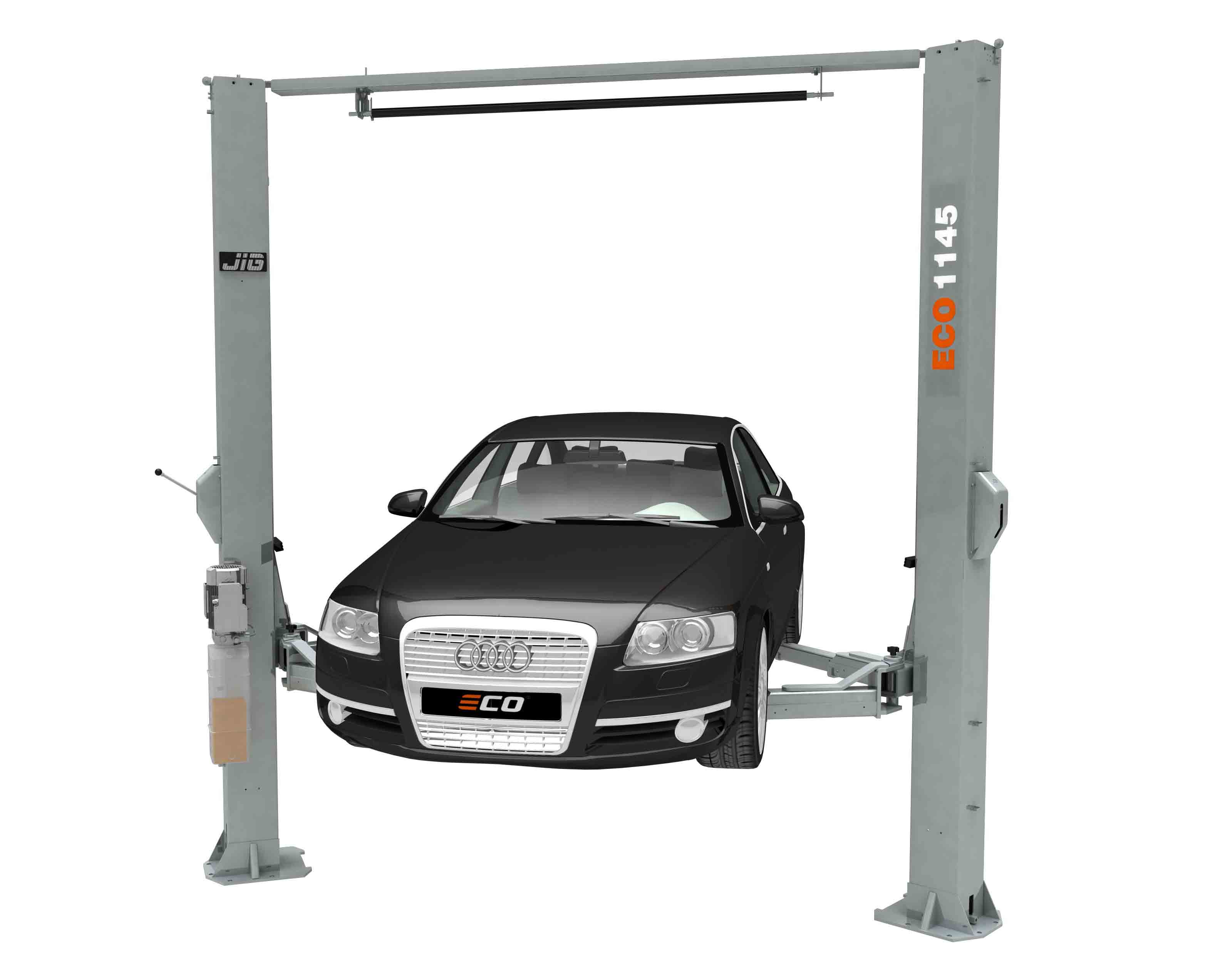 two post vehicle service lift