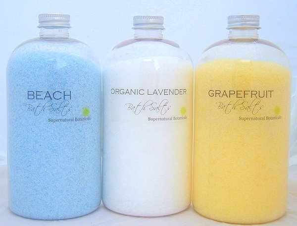 Fizz Concentrated Bath Salts 500mg, Bolivian Ivory Wave Recharge Bath Salts 500mg,