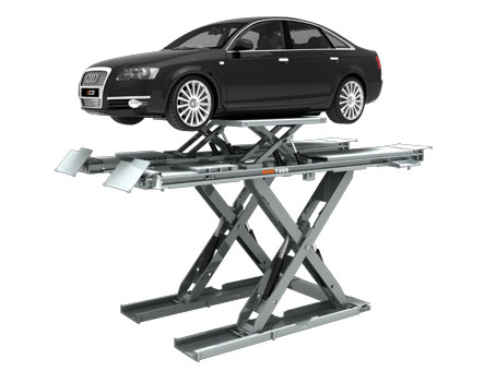 scissor vehicle service lift