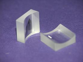 Fused silica plano-concave cylindrical lens