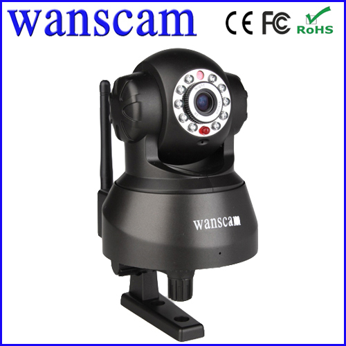 indoor wifi pan tilt ir ip camera in surveillance with ir-cut